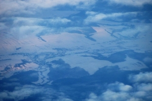 Земля крізь хмари