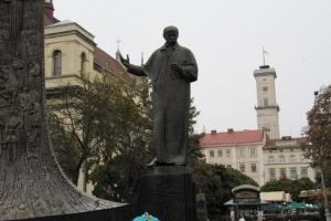 Т. Шевченко у бронзі